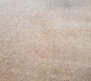 Светлый коврик после экстракторной чистки
