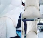 Бережная химчистка кресла в салоне красоты