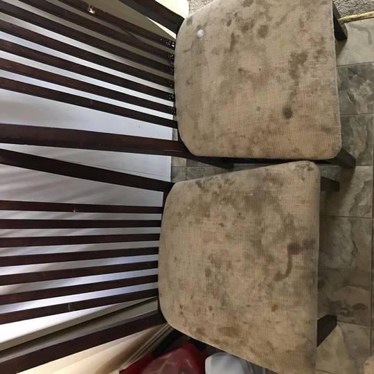 Ресторанные стулья до очистки фото